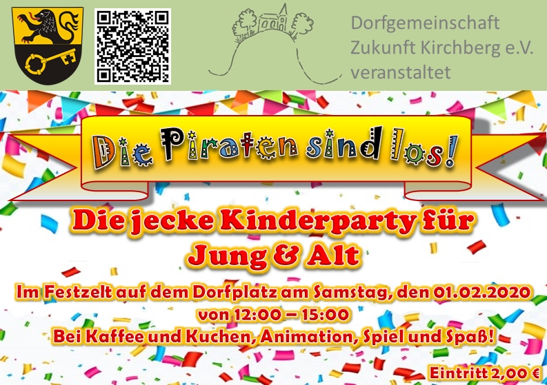 Flyer Kinderparty